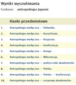 Antropologia Japonii 2