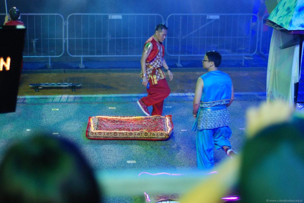 Chingay 2018. Latający dywan w wersji współczesnej :)