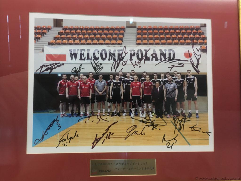 A to polscy siatkarze i ich autografy.