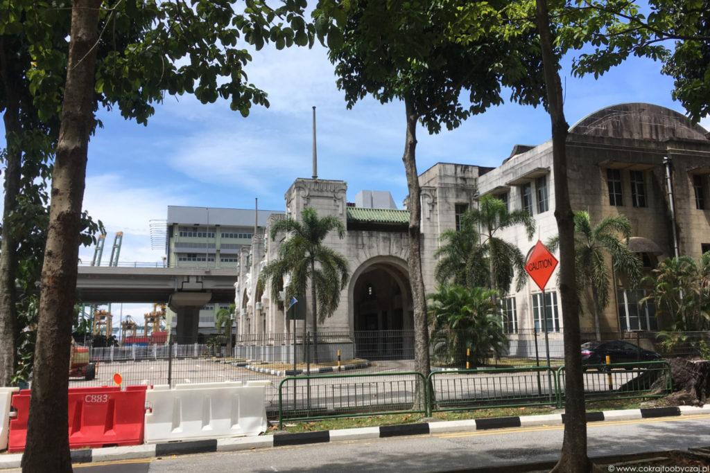 Budynek dawnego dworca kolejowego Tanjong Pagar.