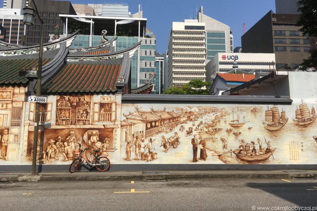 Chinatown śladem murali. Spacer z kulturą i historią Singapuru w tle.