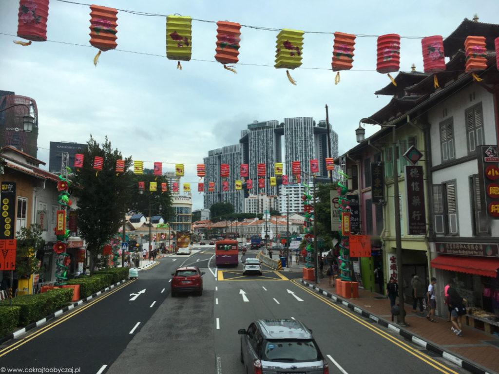 Lampiony nad Chinatown.