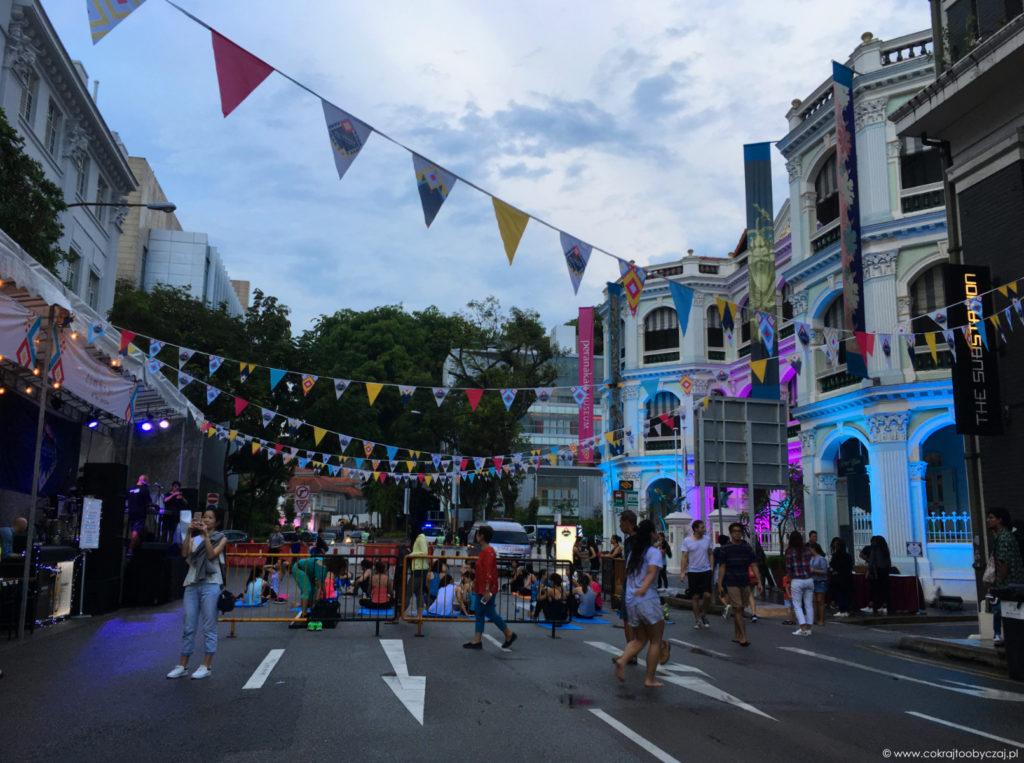 Na chwilę przed rozpoczęciem Armenian Street Festival