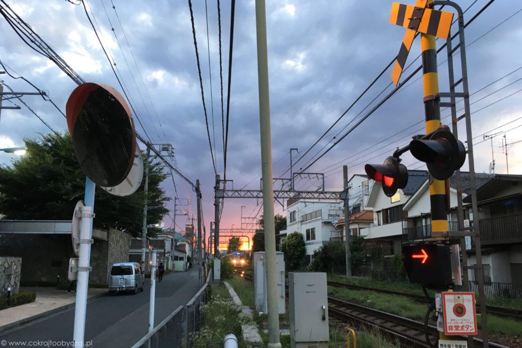 Wspomniany zachód słońca prezentował się tak:)