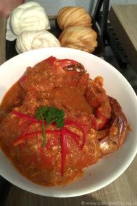 Singapurskie danie, chilli crab.