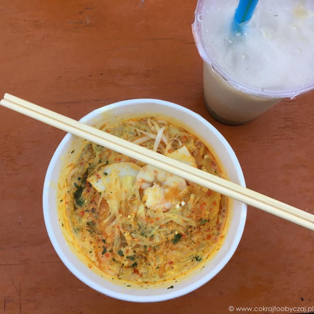 Katong laksa, czyli singapurska laksa.