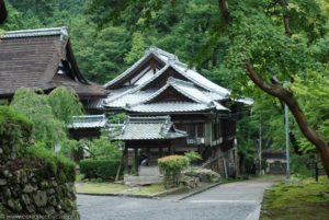 Tradycyjna japońska architektura, lato w Otsu.