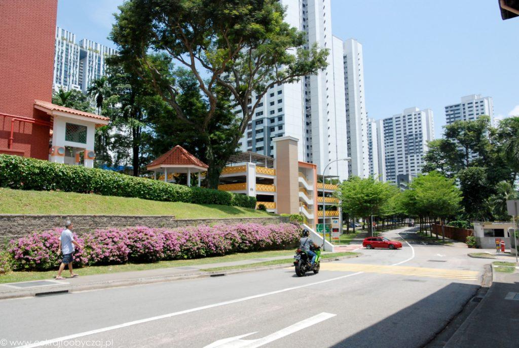 Okolice Spottiswoode i Everton Park w Singapurze.