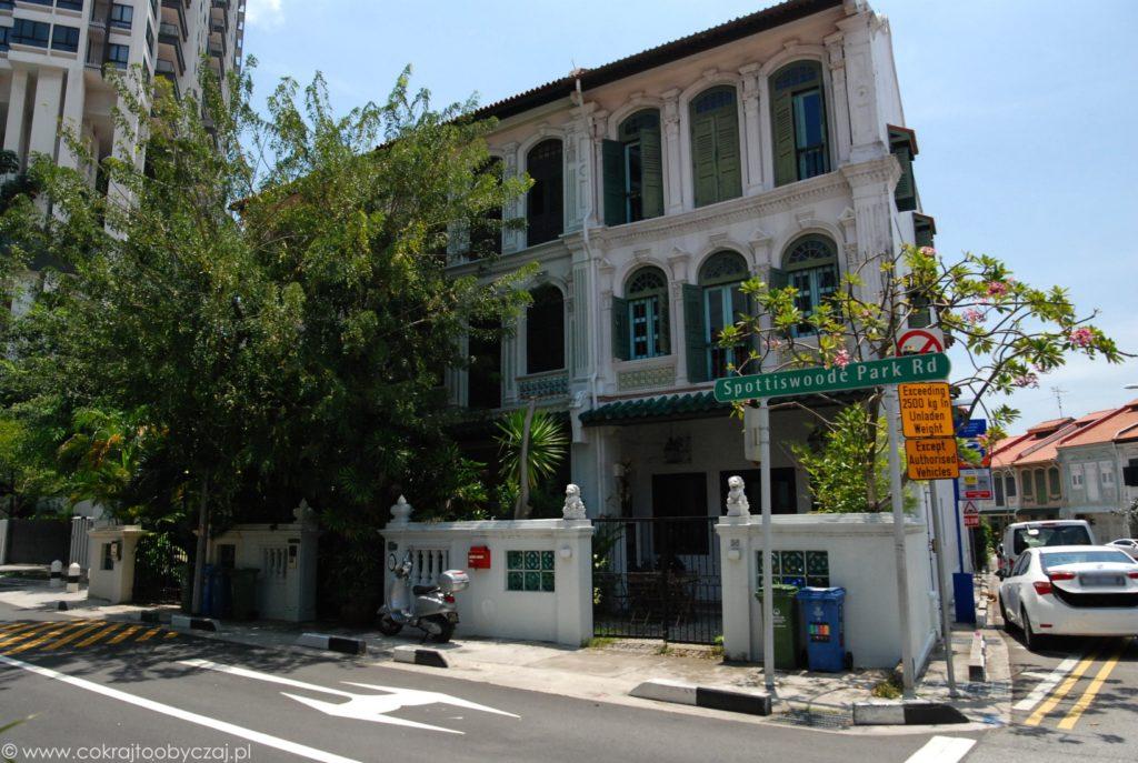 Shophouses, czyli kolonialna architektura w Singapurze.