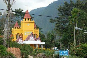Chrześcijański kościół - Sumatra, Indonezja.