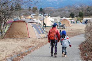 Nowy Rok pod namiotem, jezioro Tanuki, okolice Fuji