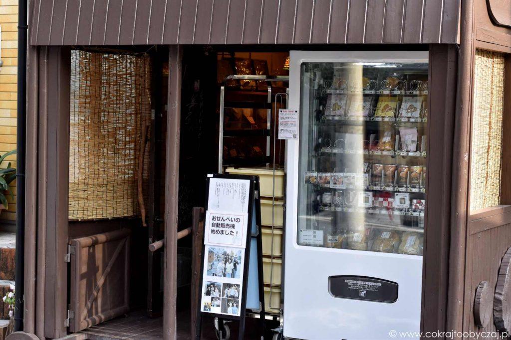 Kagurazaka, jizoya - sklep z osenbe