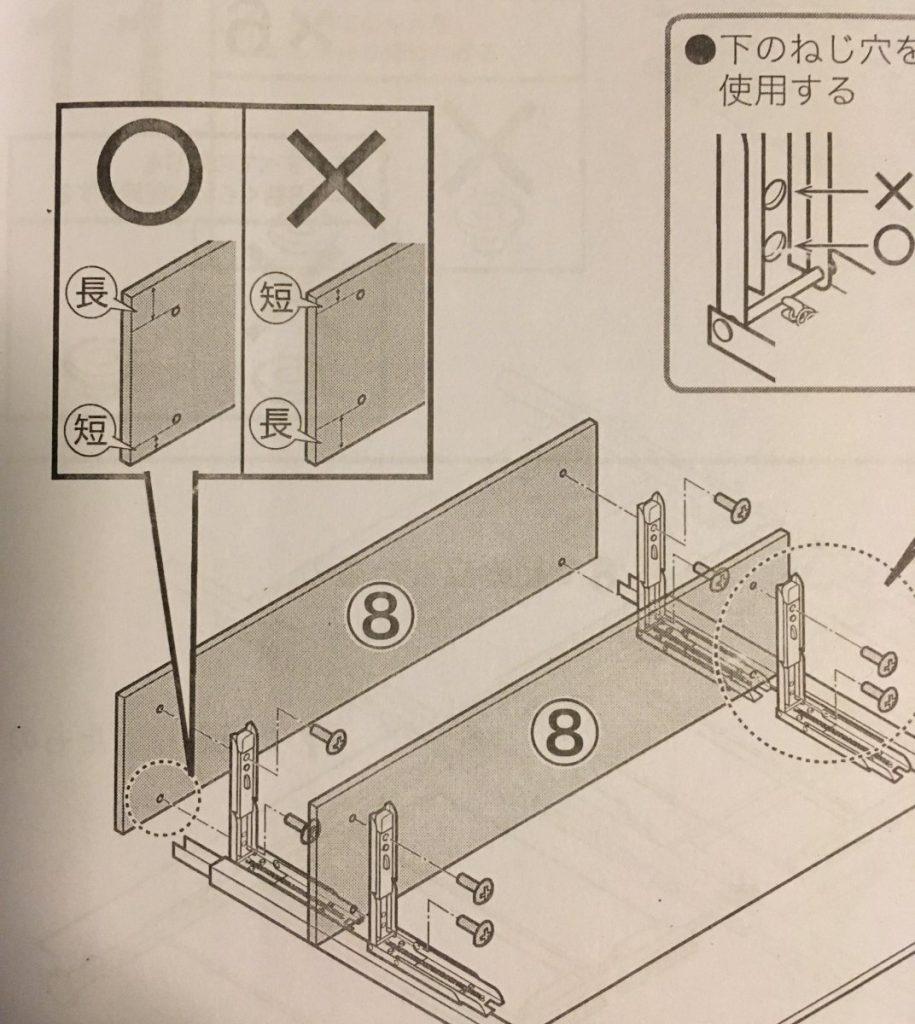 Fragment instrukcji składania któregoś z naszych mebli :)