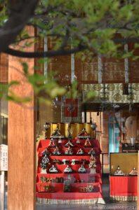 Kagurazaka - Akagi Jinja - Hina matsuri